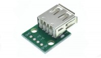 Адаптер USB DIP 4-Pin 2.54mm на платі (10107)