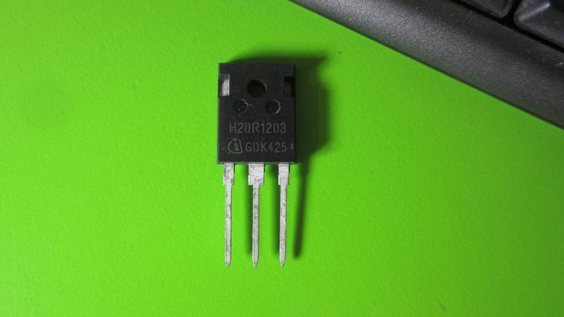 Транзистор IHW20N120R3 H20R1203 1200V 40A TO-247-3